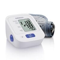 【配原装电源+电子体温计+60g枸杞子】欧姆龙电子血压计血压仪家用量血压器全自动HEM-7124臂式