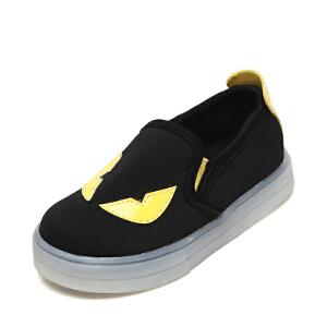 OSWIN/奥思文新款春秋韩版男童鞋儿童单鞋魔术贴休闲鞋板鞋