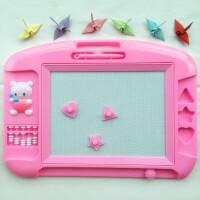 晶晶 TK909画写板磁性写字板手写板幼儿儿童学生宝宝早教涂鸦学习画板创意益智科教玩具教具文具彩色塑料板创意可爱 颜色