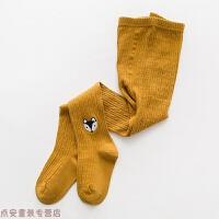 冬季�和��B��m春秋季女童�B�w�m�����m子�o�p�功�m女童打底��m秋冬新款 姜�S狐� TK011-6