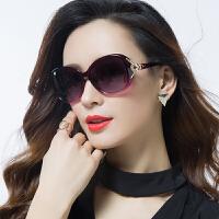 新款偏光太阳镜圆脸女士墨镜女潮明星款眼镜