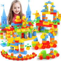 积木拼装玩具6-7-8-10岁男孩儿童1-2周岁4塑料插女孩