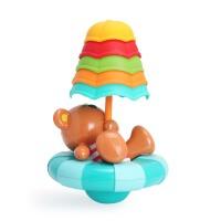 德国Hape儿童浴室洗澡玩具宝宝戏水玩水洗澡玩具婴儿水上玩具