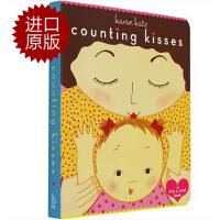 【现货】英文原版 数亲亲(数数亲吻宝宝的次数)Counting Kisses: Counting Kisses 亲爱的宝