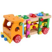 螺母组合拆装玩具木质儿童男孩组装可拆卸拼装玩具车