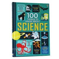 原版英文 100 things to know about science 关于科学的100件事 图书活动书亲子互动英