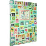 City Atlas 英文原版 探索全世界受欢迎的30个城市 34x28cm超大开本绘本图画书