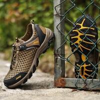 透气网鞋徒步鞋男男鞋夏季户外运动登山网布鞋防滑网面休闲鞋子