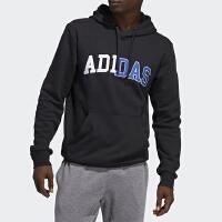Adidas/阿迪达斯正品秋季男子休闲运动套头卫衣GE5510