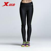 【顺丰快递】特步正品女子舒适修身健身跑步运动长裤紧身裤运动裤884328789036