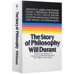 哲学的故事 英文原版小说 The Story of Philosophy哲学简史 威尔杜兰特 哲学家的生平与哲学观点
