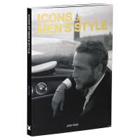 Icons of Men's Style 男人的风格的图标 时尚男装设计 型男服饰 男装搭配 男性服装饰品设计书籍  英文原版
