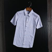 柜子剪标出品衬衫男短袖商务休闲丝光棉夏装透气舒爽半袖衬衣寸衫