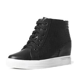 Teenmix/天美意专柜同款牛皮女靴6S741DD6