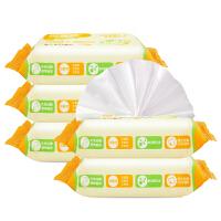 [当当自营]可爱多婴儿口手湿巾25片*5包
