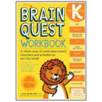 【新到现货】英文原版 Brain Quest Kindergarten Workbook [With Stickers