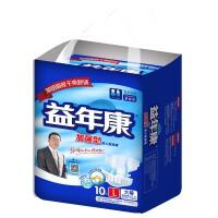 [当当自营]益年康加强型成人纸尿裤L号 10片 男女适用
