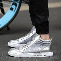 DAZED CONFUSED青少年学生高帮板鞋帆布鞋男韩版潮秋季鞋子老北京休闲鞋男鞋