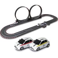 音速风暴儿童电动轨道车双人遥控赛车玩具套装男孩礼物TR02