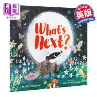 【中商原版】Jane McGuinness What's Next 下一个是 精品绘本 低幼亲子关系故事绘本 英文原版