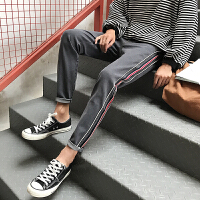 牛仔裤男装春季2018新款韩版修身复古学生潮流时尚百搭小脚男裤子