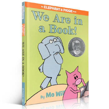 We Are in a Book! 小猪小象系列 我们在书中!精装 吴敏兰 音频 儿童英文绘本An Elephant and Piggie
