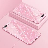 苹果7plus手机壳女款iphone8仙女贝壳玻璃后盖6s全包边iphonex