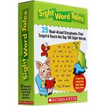 【中商原版】Sight Word Tales 学乐常见词故事套装25册 绘本 儿童启蒙高频词汇拼读 Scholasti