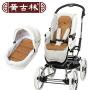 黄古林婴儿古藤推车坐垫凉席宝宝通用透气藤席儿童手推车坐垫