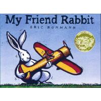 英文原版My Friend Rabbit 我的兔子朋友 2003年凯迪克金奖