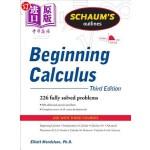 【中商海外直订】Schaum's Outline of Beginning Calculus
