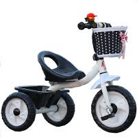 迪童 儿童手推三轮车童车小孩自行车脚踏车玩具宝宝单车1-2-3-4岁的