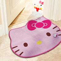 惠多hello kitty地垫 卡通地垫 可爱凯蒂猫浴室防滑地毯地垫
