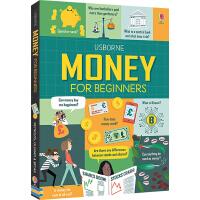 预售 Usborne Money for Beginners 读懂金融 英文原版 儿童英语启蒙绘本 少儿科学科普读物 尤