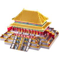 拼酷3D立体金属拼图紫禁城故宫太和殿建筑拼装模型玩具