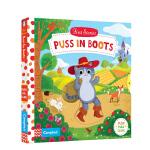 【中商原版】动手小故事 穿靴子的猫 英文原版 Puss in Boots(First Stories)童话故事 机关操