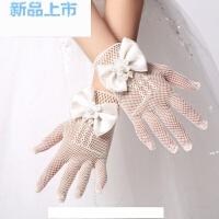 �和�婚�花童�Y服手套女童公主裙�W眼��力手套新娘�Y婚手套