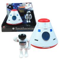 儿童航天飞机模型火箭卫星摆件宇宙太空飞船站男孩仿真玩具礼盒装儿童节礼物
