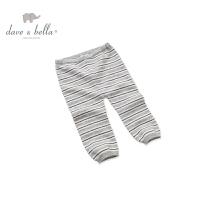 戴维贝拉冬季柔软纯羊绒宝宝舒适长裤 婴儿保暖裤DB136