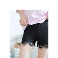 夏季新款蕾丝短裤女防走光安全裤可外穿打底短裤薄款保险裤防狼裤 均码
