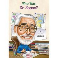 【现货】英文原版Who Was Dr. Seuss? 苏斯博士是谁 名人认知系列 中小学生读物
