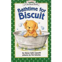 英文原版 My First I Can Read Bathtime for Biscuit 小饼干经典绘本