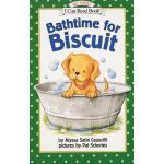 英文原版 My First I Can Read Bathtime for Biscuit 小饼干经典绘本