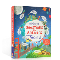 英文原版 Lift-the-flap Questions and Answers about Our World 关于