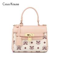 Clous KrauseCK2019新款包包女包单肩手提包时尚简约优雅通勤印花百搭手提包潮流女包
