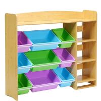 整理柜置物架宝宝储物箱儿童书架 玩具收纳架幼儿园大容量