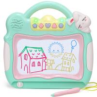 儿童画画板磁性写字板宝宝1-3岁2婴幼儿彩色磁力笔大号涂鸦板玩具