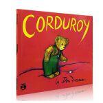 英文原版绘本 Corduroy 小熊可杜罗 美国100本需读书单 获奖无数 汪培�E第3三阶 名家Don Freeman