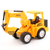 无线遥控挖掘机充电动工程车儿童玩具男孩礼物大号钩机挖土机模型 送2节5号电池
