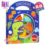 【中商原版】MBI启蒙书:恐龙 Busy Windows:Dinosaurs 低幼启蒙 识物启蒙 韵律启蒙 纸板书 0
